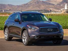 2015 Infiniti Ipl >> 2014 Infiniti QX70 Exterior Paint Colors and Interior Trim ...