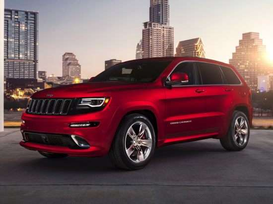 2014 Jeep Grand Cherokee SRT Launch Control Demo