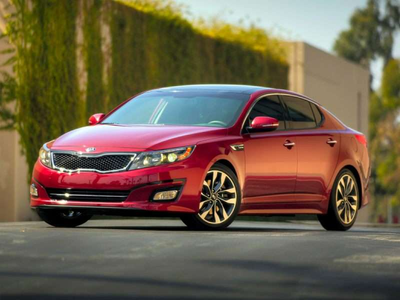 Refreshed 2014 Kia Optima Reaches Dealerships