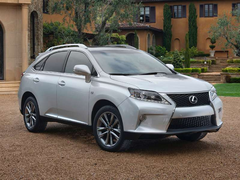 Research the 2014 Lexus RX 350
