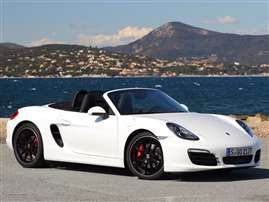 2014 Porsche Boxster Base 2dr Rear-wheel Drive Convertible
