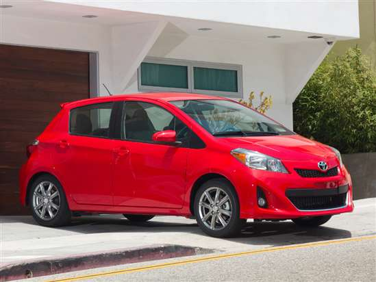 2014 Toyota Yaris SE Test Drive & Small Car Video Review