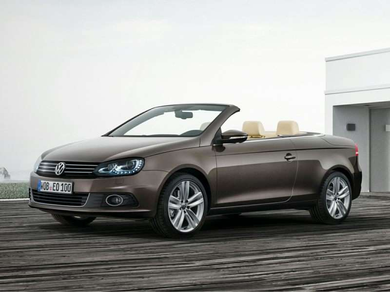 The Ten Most Affordable 2017 Convertibles Volkswagen Eos