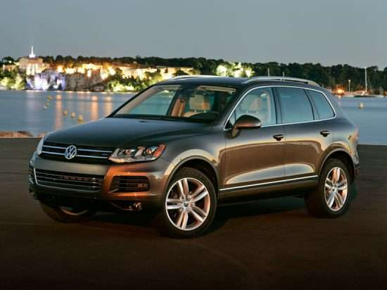 2014 Volkswagen Touareg TDI R-Line Test Drive & Diesel SUV Video Review