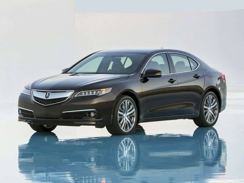 IIHS Recognizes 2015 Acura TLX with Top Safety Pick+ Honor