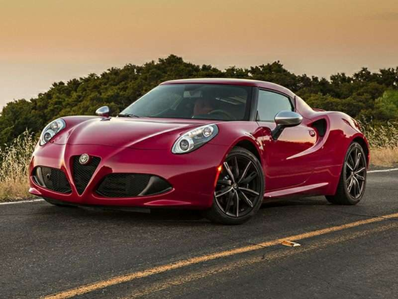 Awesome 9) 2015 Alfa Romeo 4C