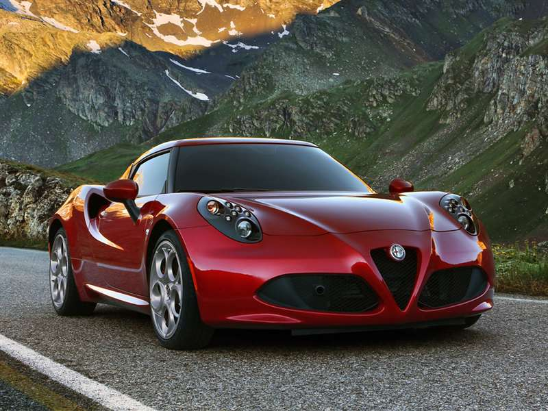 Awesome 3) 2016 Alfa Romeo 4C