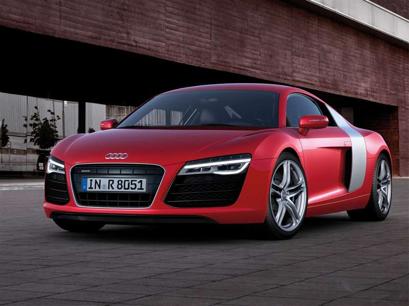 Captivating 5) 2015 Audi R8