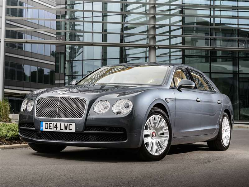 Merveilleux 2) 2015 Bentley Continental Flying Spur