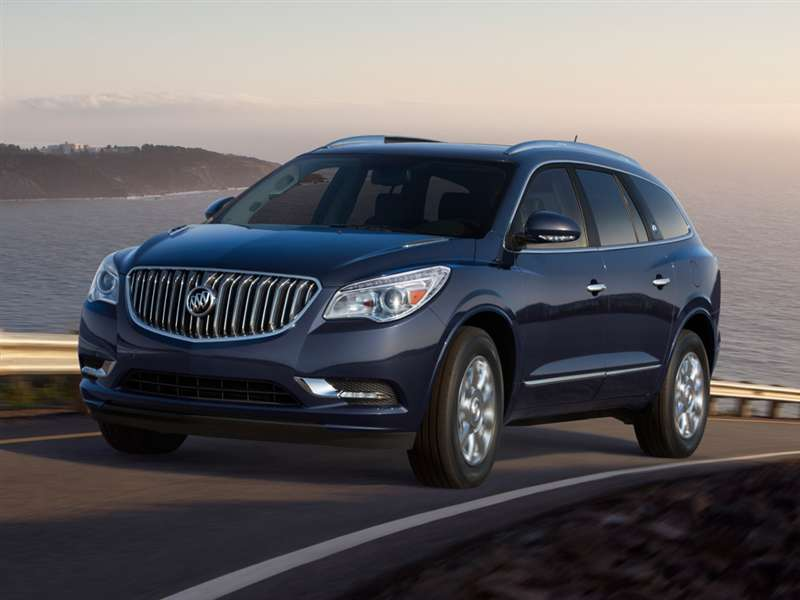 2015 Buick Enclave Pictures including Interior and ...