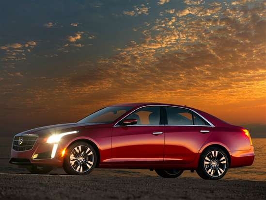 2015 Cadillac Cts Models Trims Information And Details