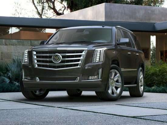 2015 Cadillac Escalade Luxury SUV First Look Reveal Video in NYC