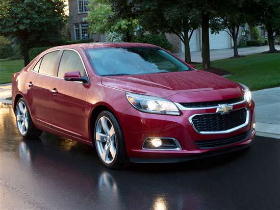 2015 Chevrolet Malibu Models, Trims, Information, and ...