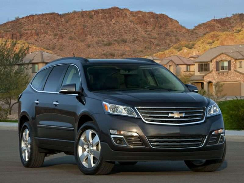 2015 Chevrolet Traverse Quick Spin Review
