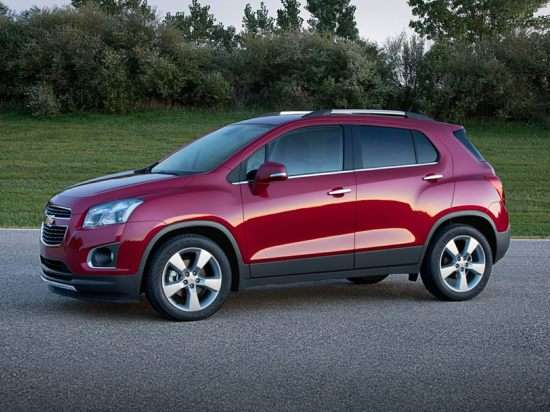 2015 Chevrolet Trax Models, Trims, Information, and ...