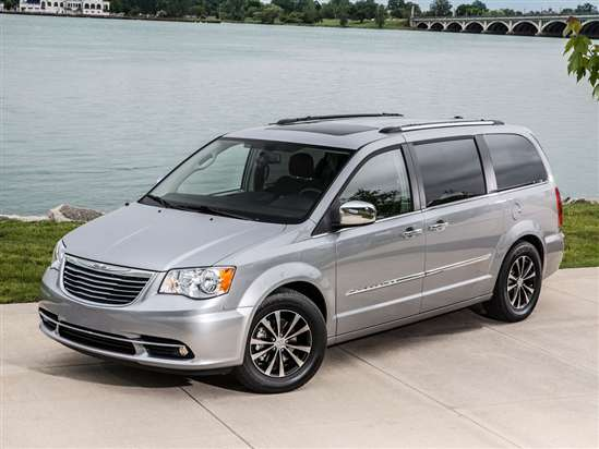 2017 Chrysler Town And Country