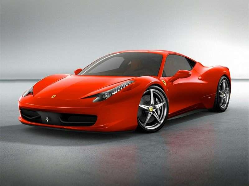 Elegant 3) 2015 Ferrari 458 Italia
