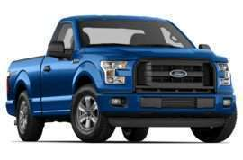 2015 Ford F-150 XL 4x2 Regular Cab Styleside 6.5 ft. box 122 in. WB