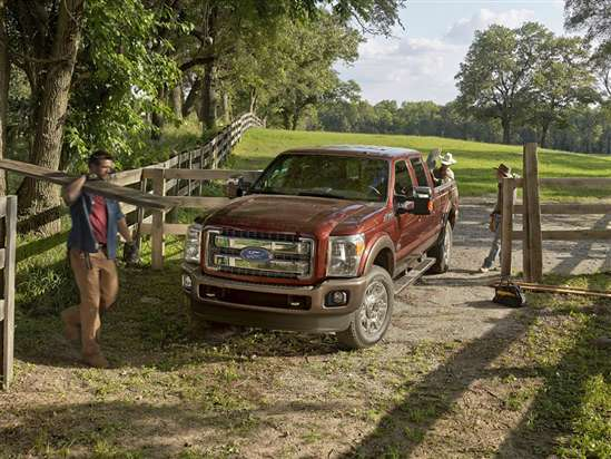 2015 Ford F-350 XLT 4x4 SD Crew Cab Short Box