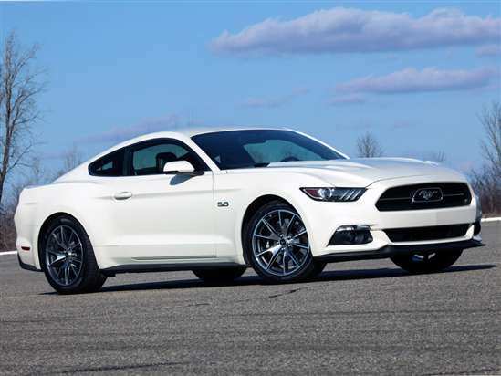 2015 Ford Mustang GT 50 Years Limited Edition Fastback