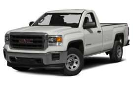 2015 GMC Sierra 1500 Base 4x2 Regular Cab 6.6 ft. box 119 in. WB