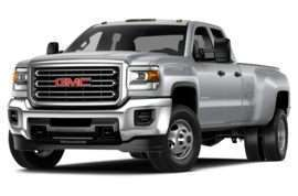 2015 GMC Sierra 3500HD SLE 4x4 Double Cab 158.1 in. WB DRW