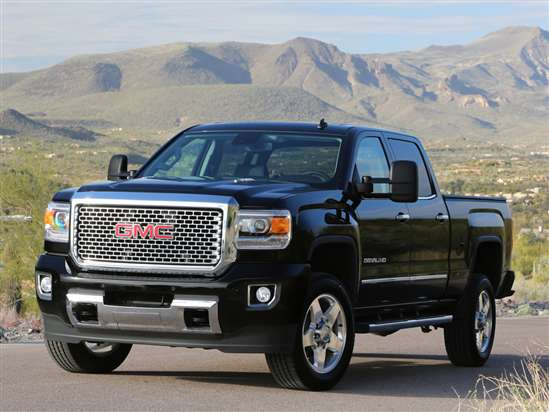 2015 GMC Sierra 3500HD SLE 4x4 Crew Cab Long Box
