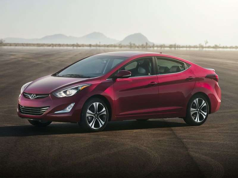Current Gen Elantra Was 2012 North American Car Of The Year