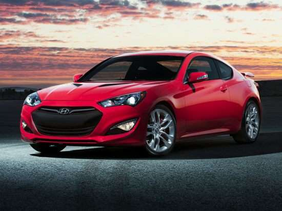 2015 Hyundai Genesis Coupe Ultimate w/Black Seats (M6)