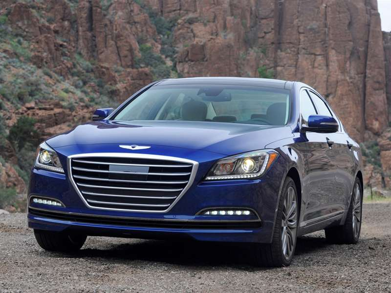 2015 Hyundai Genesis Pictures Including Interior And Exterior Images |  Autobytel.com