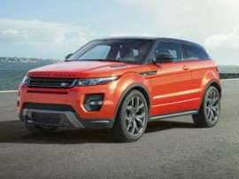 2015 Land Rover Range Rover Evoque Pure Plus 4x4 Coupe