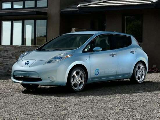 2015 Nissan LEAF SV w/17 Wheels