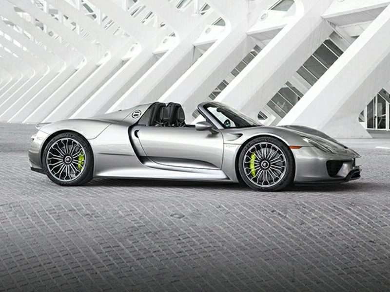 2015 Porsche 918 Spyder Pictures Including Interior And Exterior Images