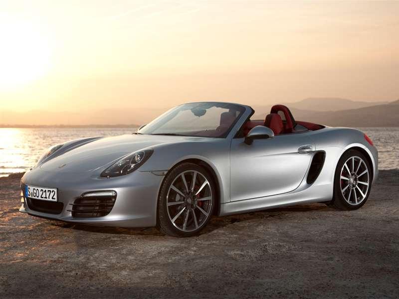 1) 2015 Porsche Boxster