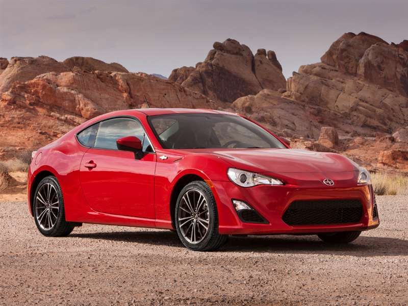 Incroyable 10) 2015 Scion FR S