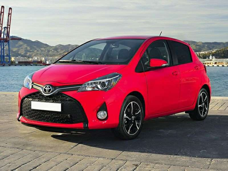 2015 Toyota Yaris Comes With A New Face