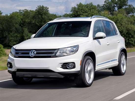 volkswagen tiguan models trims information  details autobytelcom