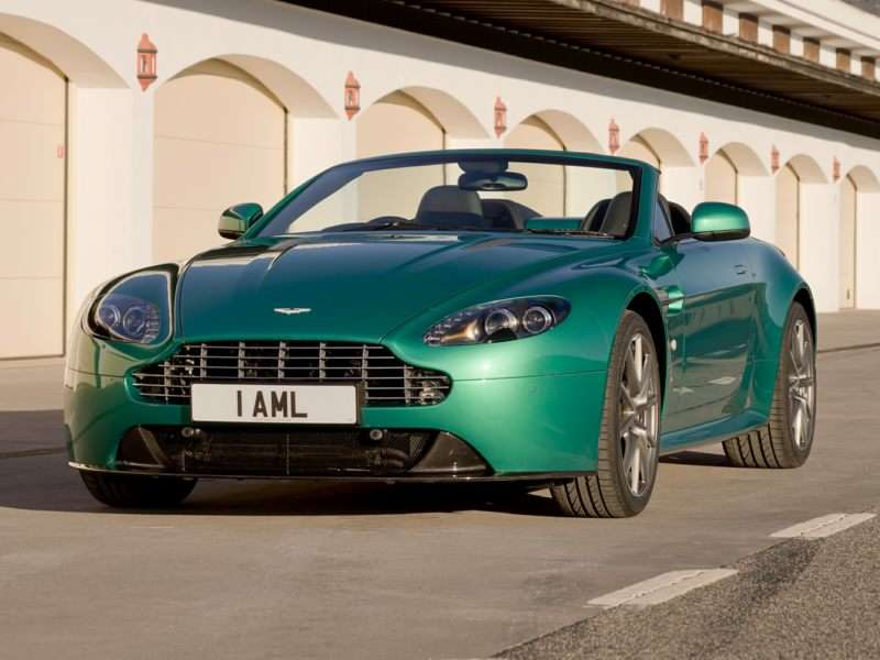 Research the 2016 Aston Martin V8 Vantage S