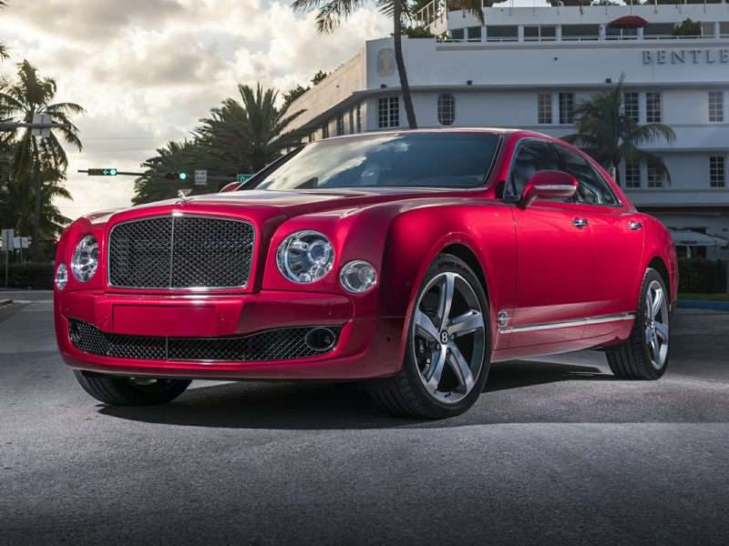 3 2016 Bentley Mulsanne Sd