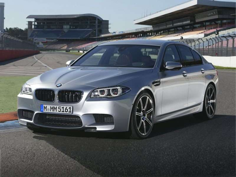 2016 BMW M5 U2014 4.5 Seconds