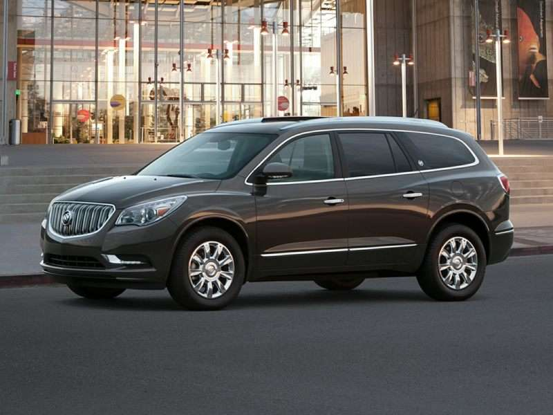 2016 Buick Enclave Pictures including Interior and ...