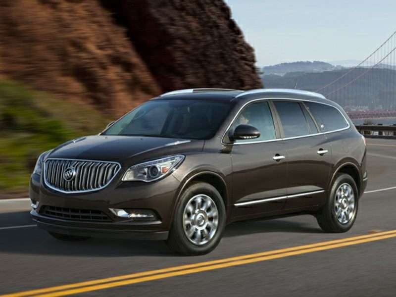 2016 buick enclave road test and review. Black Bedroom Furniture Sets. Home Design Ideas