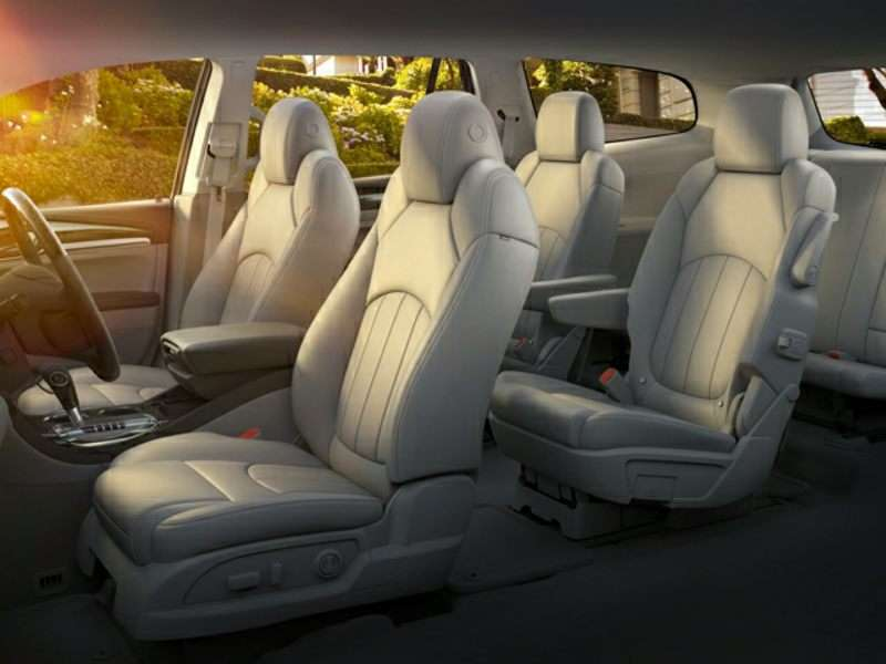 buick enclave 3rd row