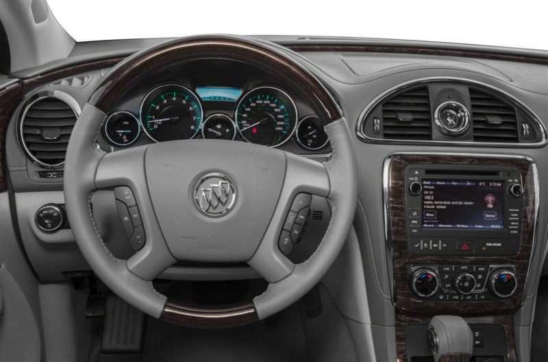 Buick Encore Black Interior