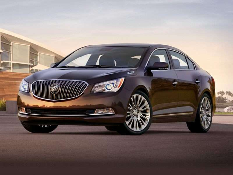 Buick Lacrosse As One Of The Best Cars For Elderly