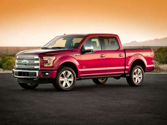 2016 Ford F-150 Platinum 4x4 SuperCrew Cab Styleside 6.5' Box