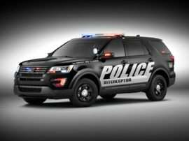 2016 Ford Utility Police Interceptor Base All-wheel Drive