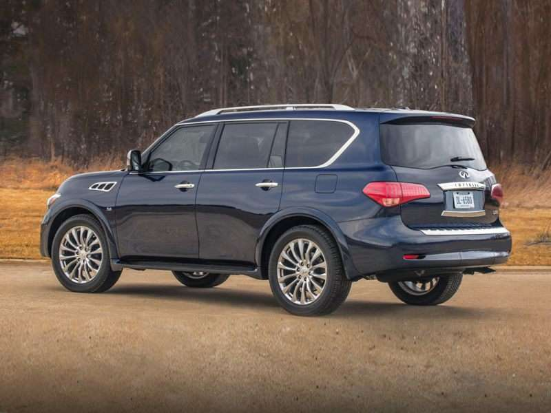 5 2016 Infiniti Qx80 41 Inches