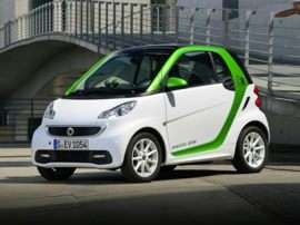 2016 smart fortwo electric drive passion 2dr Coupe