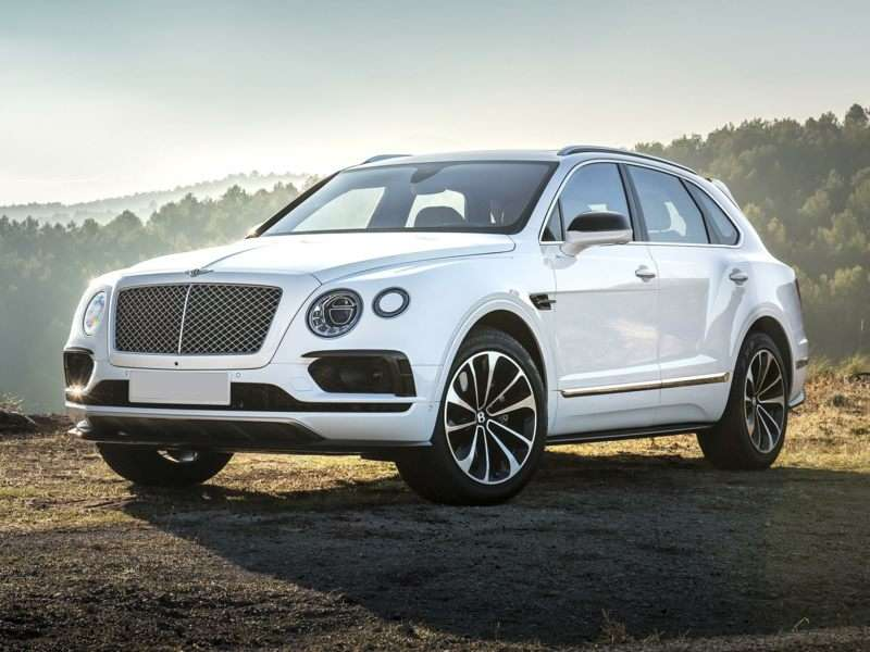 Research the 2017 Bentley Bentayga